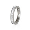 2.50ctw Vintage French Cut Diamond Eternity Band 1