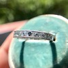 2.50ctw Vintage French Cut Diamond Eternity Band 19