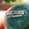 2.50ctw Vintage French Cut Diamond Eternity Band 12