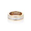 2.60ctw Baguette Cut Diamond Eternity Band, in 18kt Yellow Gold 0