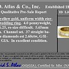 2.60ctw Baguette Cut Diamond Eternity Band, in 18kt Yellow Gold 8
