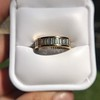 2.60ctw Baguette Cut Diamond Eternity Band, in 18kt Yellow Gold 5