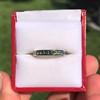 2.80ctw Rainbow Effect Channel Wedding Ring 11