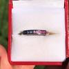 2.80ctw Rainbow Effect Channel Wedding Ring 9