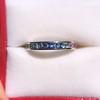 2.80ctw Rainbow Effect Channel Wedding Ring 0