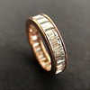3.52ctw Baguette Diamond Eternity Band, in Rose Gold 4