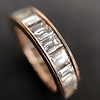 3.52ctw Baguette Diamond Eternity Band, in Rose Gold 0