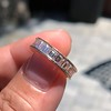 3.52ctw Baguette Diamond Eternity Band, in Rose Gold 1