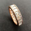 3.52ctw Baguette Diamond Eternity Band, in Rose Gold 3