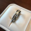 3.75ctw Graduated Baguette Eternity Band 24
