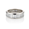 3.75ctw Graduated Baguette Eternity Band 0