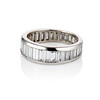 3.75ctw Graduated Baguette Eternity Band 1