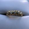 0.48ctw Antique Old European Cut 5-Stone ring 50
