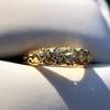0.48ctw Antique Old European Cut 5-Stone ring 8