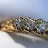 0.48ctw Antique Old European Cut 5-Stone ring 13
