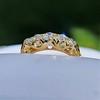 0.48ctw Antique Old European Cut 5-Stone ring 46
