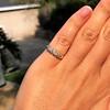 0.48ctw Antique Old European Cut 5-Stone ring 27