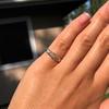 0.48ctw Antique Old European Cut 5-Stone ring 45