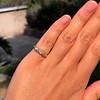 0.48ctw Antique Old European Cut 5-Stone ring 32