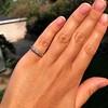 0.48ctw Antique Old European Cut 5-Stone ring 14