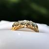 0.48ctw Antique Old European Cut 5-Stone ring 9