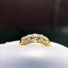 0.48ctw Antique Old European Cut 5-Stone ring 36