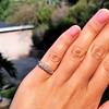 0.48ctw Antique Old European Cut 5-Stone ring 25