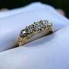 0.48ctw Antique Old European Cut 5-Stone ring 55