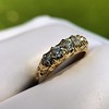 0.48ctw Antique Old European Cut 5-Stone ring 20