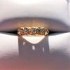 0.48ctw Antique Old European Cut 5-Stone ring 35