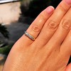 0.48ctw Antique Old European Cut 5-Stone ring 31