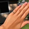 0.48ctw Antique Old European Cut 5-Stone ring 61
