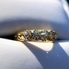 0.48ctw Antique Old European Cut 5-Stone ring 24