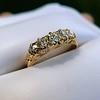 0.48ctw Antique Old European Cut 5-Stone ring 5