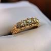 0.48ctw Antique Old European Cut 5-Stone ring 16