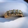 0.48ctw Antique Old European Cut 5-Stone ring 26