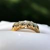 0.48ctw Antique Old European Cut 5-Stone ring 39