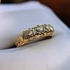 0.48ctw Antique Old European Cut 5-Stone ring 48