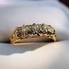 0.48ctw Antique Old European Cut 5-Stone ring 18
