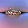 0.48ctw Antique Old European Cut 5-Stone ring 30
