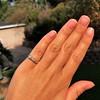 0.48ctw Antique Old European Cut 5-Stone ring 6