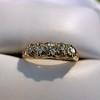 0.48ctw Antique Old European Cut 5-Stone ring 19