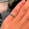 0.48ctw Antique Old European Cut 5-Stone ring 29