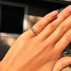 0.48ctw Antique Old European Cut 5-Stone ring 60