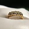 0.48ctw Antique Old European Cut 5-Stone ring 53