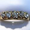 0.48ctw Antique Old European Cut 5-Stone ring 42