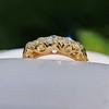 0.48ctw Antique Old European Cut 5-Stone ring 15
