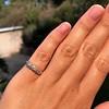 0.48ctw Antique Old European Cut 5-Stone ring 44