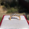 0.48ctw Vintage Transitional Cut Diamond 5-stone Band 13
