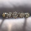 0.48ctw Vintage Transitional Cut Diamond 5-stone Band 3